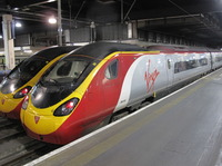 Virgin trains. Hilary Nangle photo.