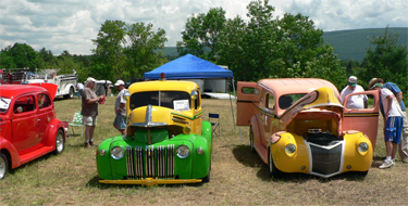 Stowe Annual Antique Car Show