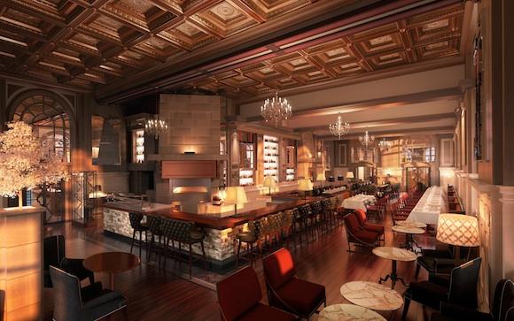 Oak Room At The Fairmont Copley Plaza Hotel