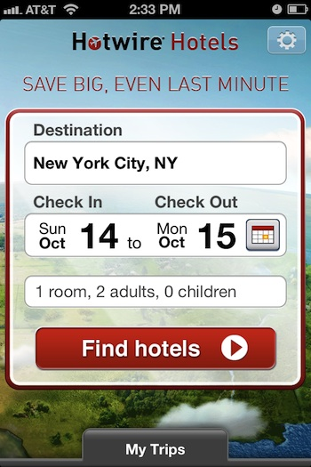 Finding Last Minute Hotel Deals Continue To Get Easier Especially For Travelers On The Go Hotwire Just Released Its Mobile Iphone That