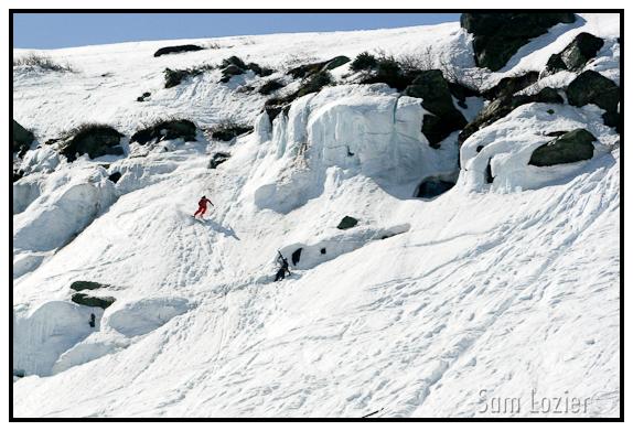Icefall Schuss