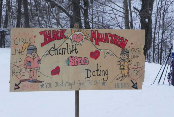 Speed dating am skilift