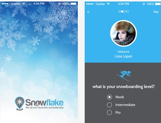 snowflake dating Snowflake is a location based meet-up app which connects skiers and riders based on ability level and preferences at the mountain finding outdoorsy people has.