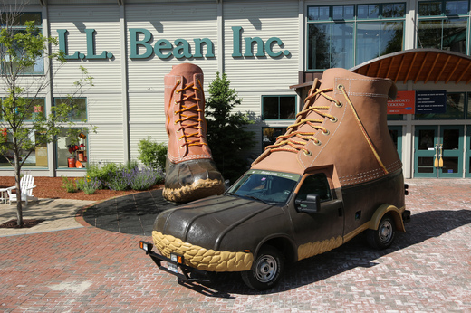Bootmobile at flagship store.JPG