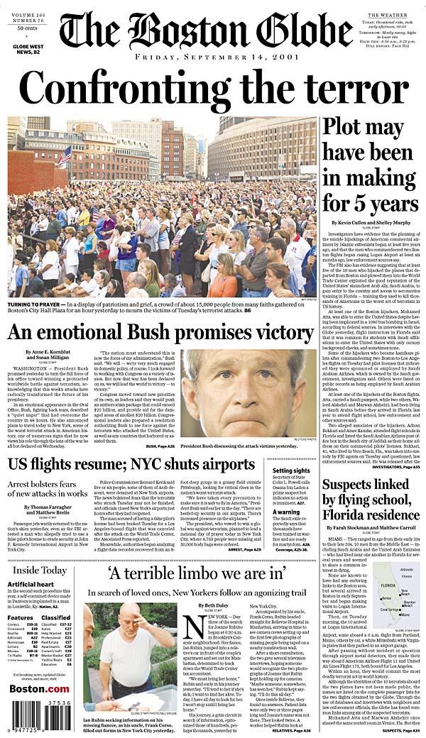 Boston com / Sept  11